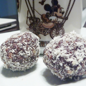 Date and Walnut Truffles
