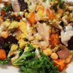 Warm Rainbow Salad