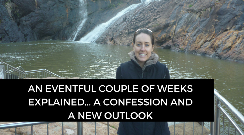 An eventful couple of weeks explained – a confession, a few changes and a new outlook
