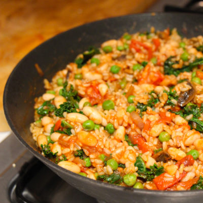 Simple and Spicy Veggie Rice
