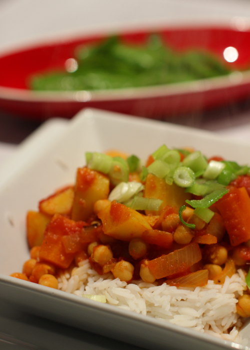 Chickpea Stew #vegan