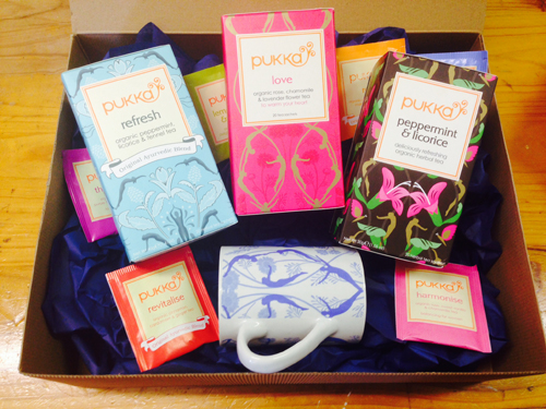 Pukka Tea Hamper Giveaway