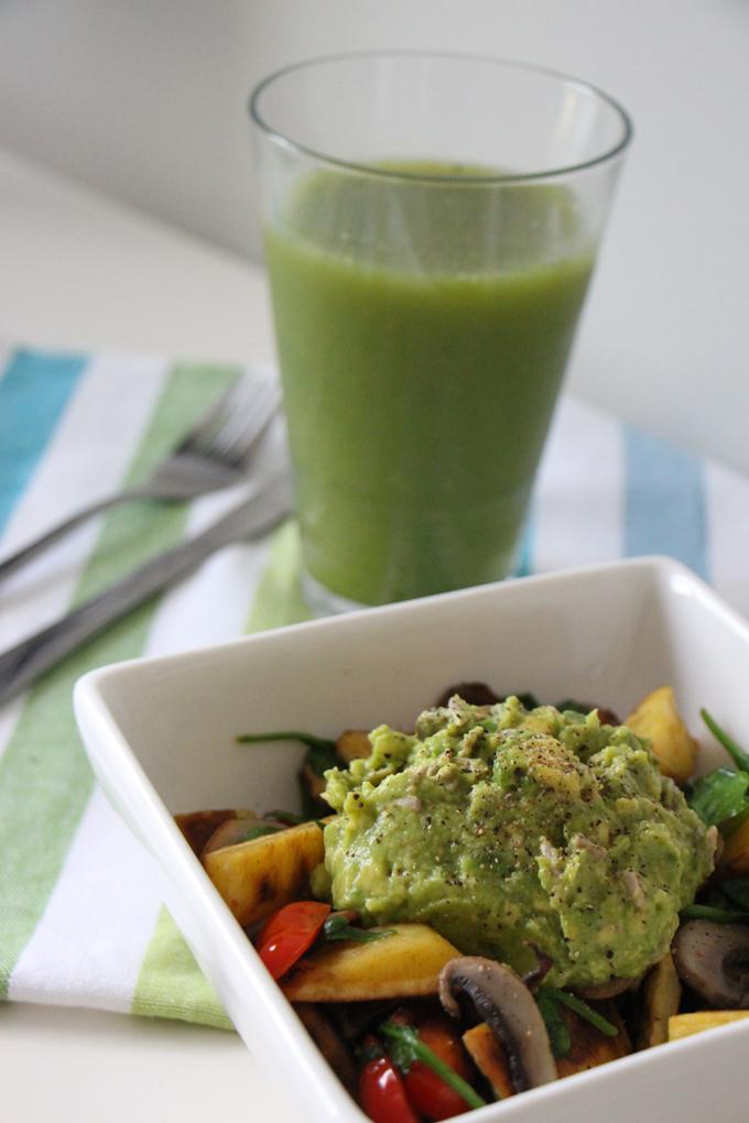 A healthier breakfast fry-up | vegan | modern day missus