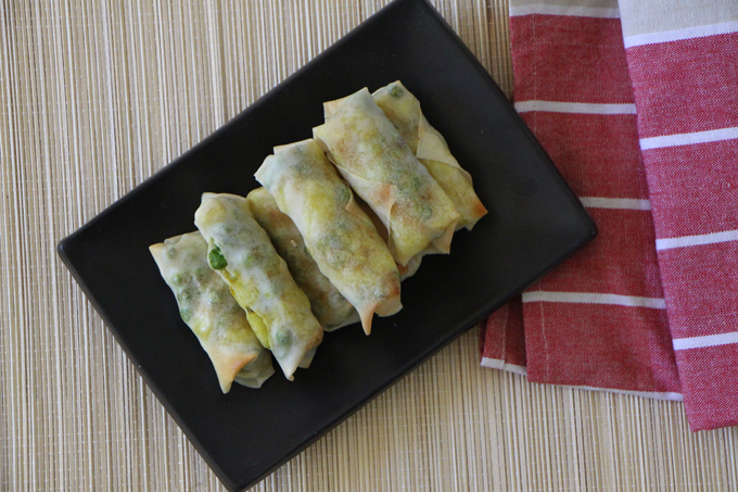 Potato and Pea Cigars | Vegan | Modern Day Missus