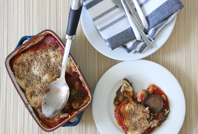 Simple vegan eggplant bake | vegan | gluten-free | Modern Day Missus