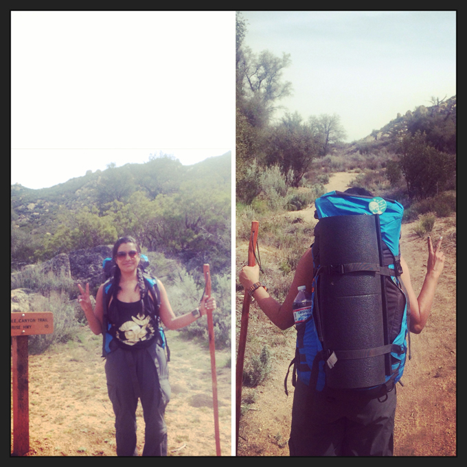 Angie-backpacking