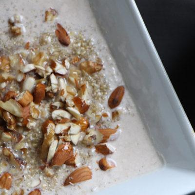 Quinoa Cinnamon Porridge