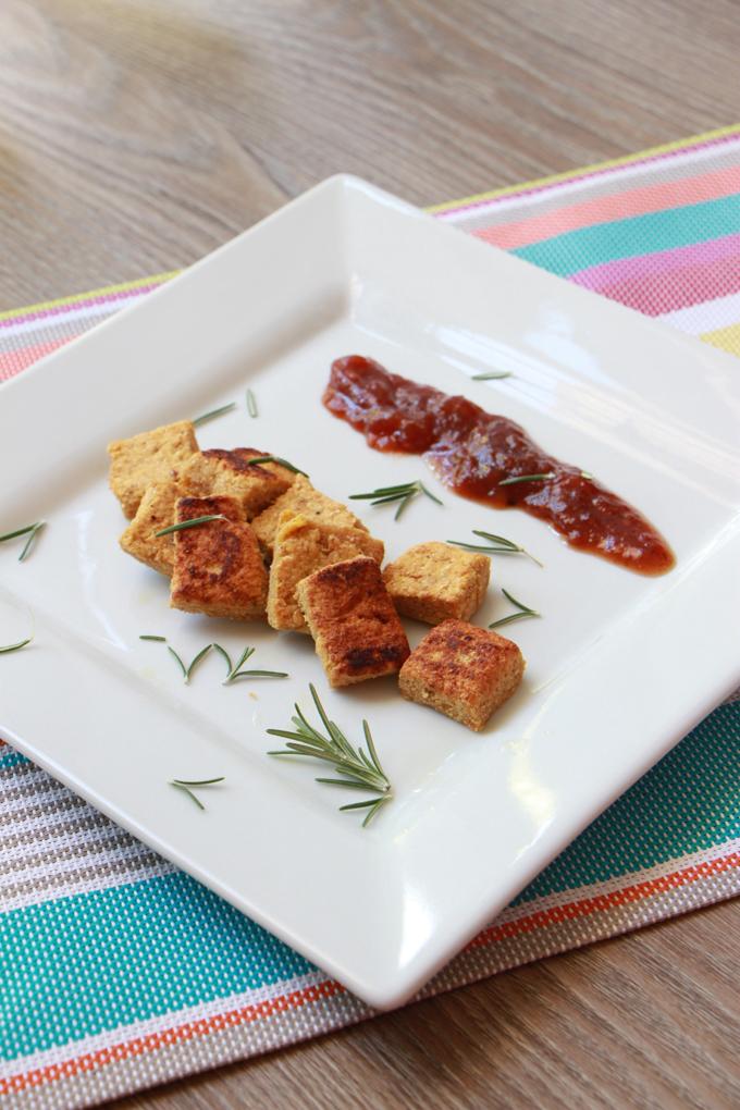 Chickpea Bites {vegan and gluten free}