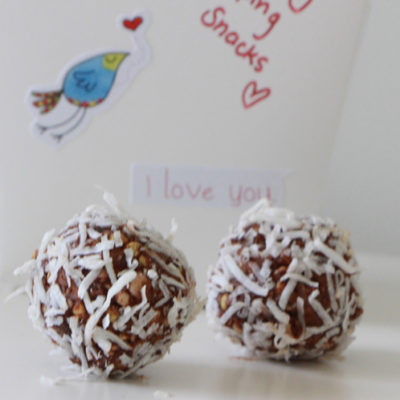 Lamington Buckini Bliss Balls