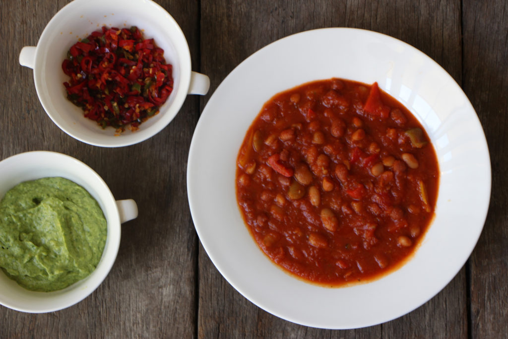 Veggie Chilli | Modern Day Missus | Vegan