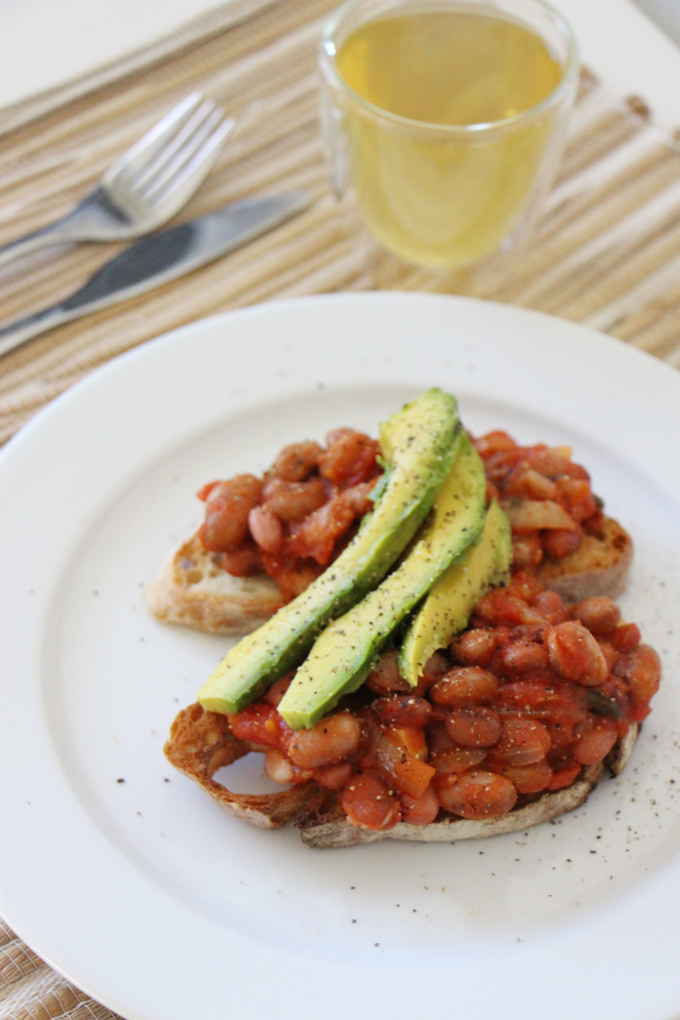 5 minute baked beans
