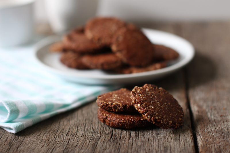 Calcium Cookies - Vegan and Gluten Free - Modern Day Missus