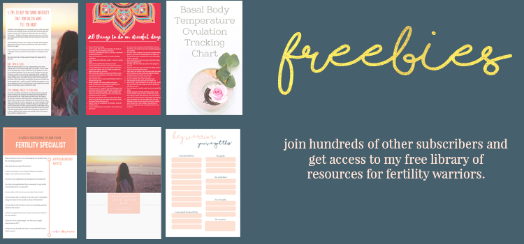 Free fertility resource library - Modern Day Missus