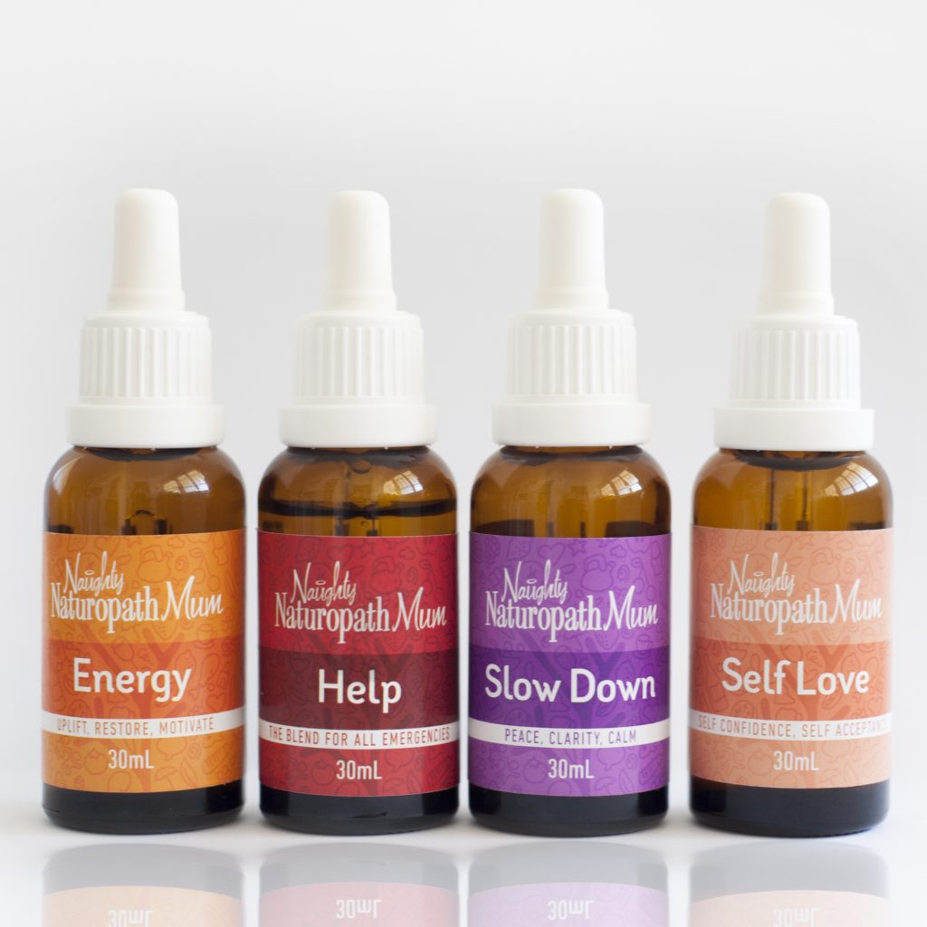 Flower essences by Naughty Naturopath Mum - gifts for people with infertility