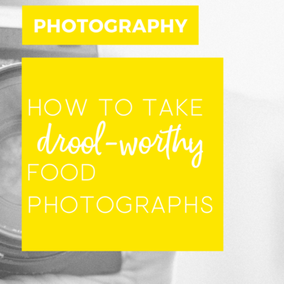 How to take drool-worthy food photographs