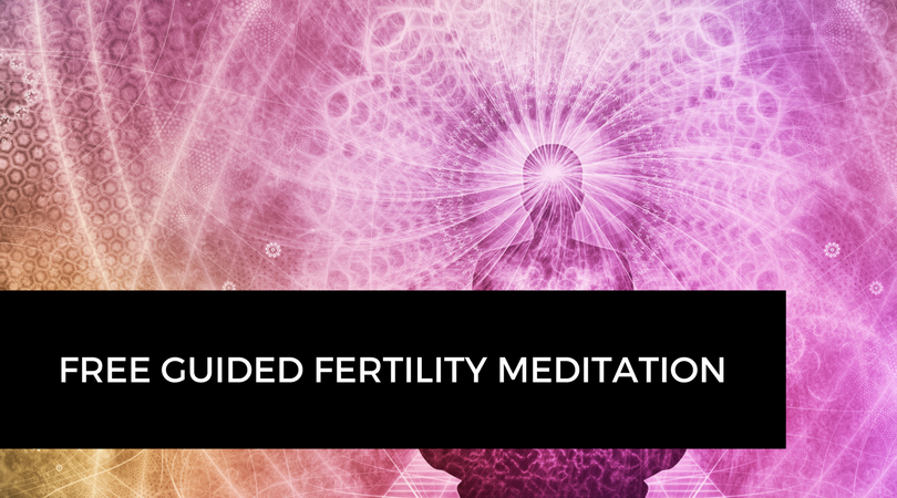 Free guided fertility meditation