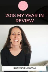2018: My Year in Review | Robyn Birkin | Fertility Warriors Podcast