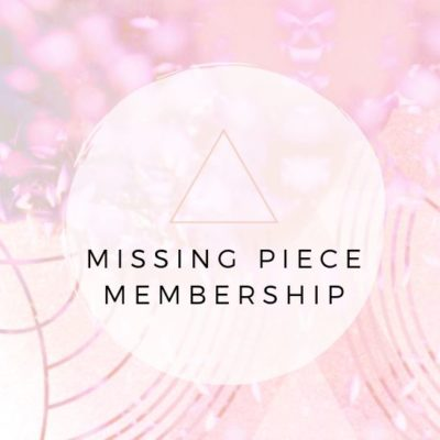 Introducing the My Missing Piece Membership
