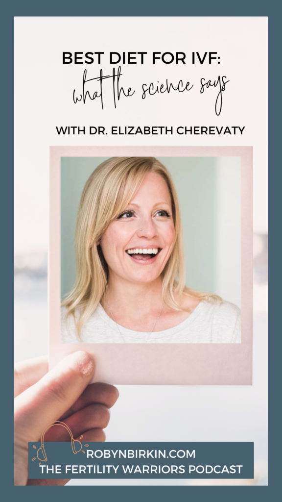 Best Diet for IVF: What the Science Says with Elizabeth Cherevaty