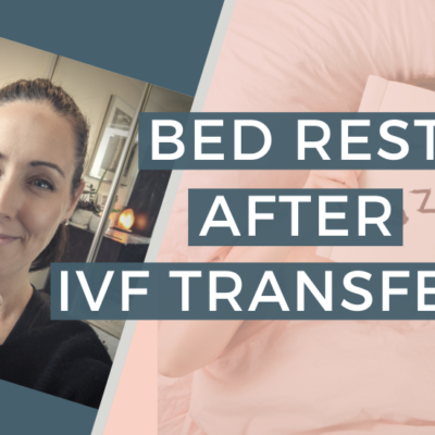 DO YOU NEED BED REST AFTER AN IVF TRANSFER?