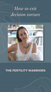Trusting your fertility specialist